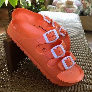 🧡🧡🧡 Triple Strap Comfort Sandal 🧡🧡🧡